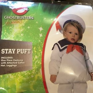 Stay Puft Ghostbuster Toddler Costume